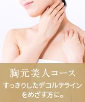 胸元美人コース